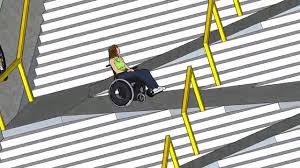 sketchup wheelchair ramp stair hybrid youtube