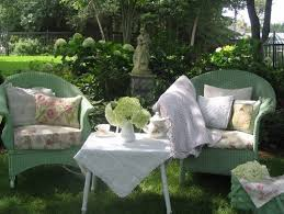 16 shabby chic garden designs with interior furniture u2013 top easy