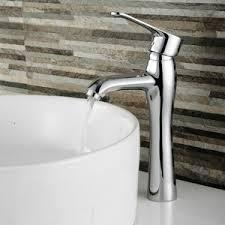 Tall Single Handle Bathroom Faucet Simple Rotatable Single Hole One Handle Bathroom Sink Faucet