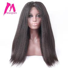gray hair pieces for american aliexpress com buy maxglam lace front human hair wigs with baby