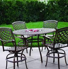 bar height patio set diy bar height patio table home design ideas