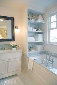 Storage For Towels In Small Bathroom by Best 20 Bathroom Built Ins Ideas On Pinterest Bathroom Closet