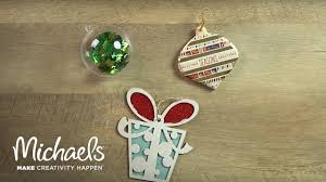diy simple holiday ornaments michaels l christmas2016