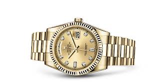 rolex day date 36 18 ct yellow gold 118238