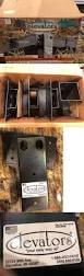 Deer Blind Elevator Brackets Blind And Tree Stand Accessories 177912 4pc Set Steel Extra Heavy