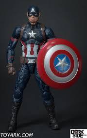 marvel legends civil war captain america photo shoot the toyark