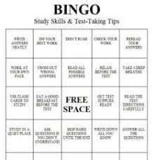 Counseling Skills For Teachers The Middle Counselor Test Taking And Study Skills Bingo