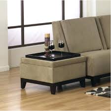 Leather Storage Ottoman Coffee Table Kenwell Tray Top Storage Ottoman Coffee Table Ning Red Leather