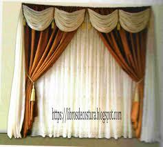 cenefas de tela para cortinas libros de costura como hacer cortinas paso a paso