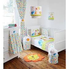 Baby Blackout Curtains George Baby Jungle Friends Blackout Curtains L66 X W54 In
