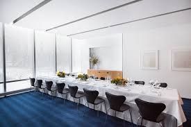 the modern private dining