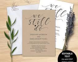 vow renewal invitations wedding renewal invitations gangcraft net