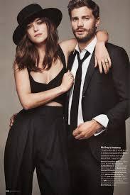 Fifty Shades Of Grey Resume Jamie Dornan And Dakota Johnson Get Together For Glamour Uk U0027s