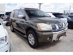 nissan armada 2005 for sale used used 2005 nissan armada in houston at gillman honda houston