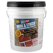shop seal krete brick and stucco waterproofing sealer at lowes com