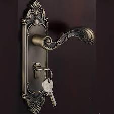 Bedroom Door Lock by Should Yi Xuan Green Ancient European Lock Door Lock Handle Lock