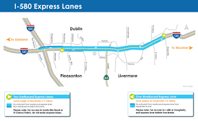 Toll Roads In Florida Map by I 580 Express Lanes Alameda Ctc