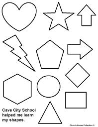 Marvelous Decoration Shape Coloring Pages Shapes Pilular Center Coloring Pages Shapes