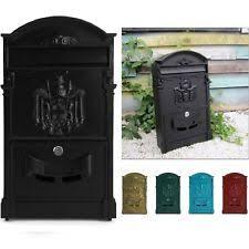 aluminium post boxes home furniture diy ebay