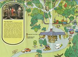 Disney World Magic Kingdom Map Walt Disney World Resort Fort Wilderness Guide Map Bottom Walt
