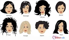 triangle and rectangular face hairstyle female keep your hair styles according to your face shape fashionvela