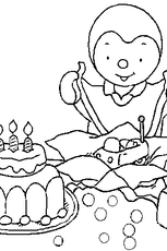 Coloriage 3 ans en Ligne Gratuit à imprimer