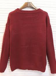 maroon sweaters buy burgundy crew neck santa printed sweaters