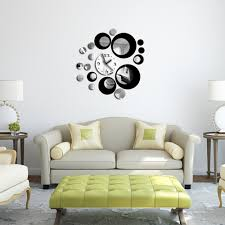 Decorative Wall Clocks For Living Room Compare Prices On Clock Circle Online Shopping Buy Low Price
