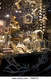 Window Display Christmas Decorations Uk by Retail Shop Christmas Window Display Stock Photo Royalty Free