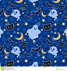 halloween cute background funny halloween seamless background stock image image 16003331