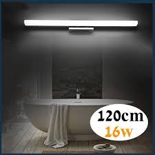 Bedroom Mirror Lights 1200mm Bathroom Mirror Light 85 265v 16w Led Bedroom Mirror