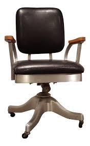 mid century modern desk chair vintage shaw walker propeller swivel office chair chairish