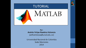 tutorial 1 de matlab en español introducción 1 2 youtube