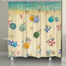 summer flip flops shower curtain free shipping today overstock