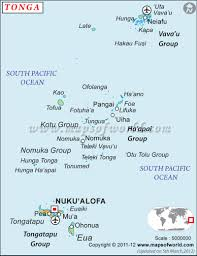 Blank Map Of El Salvador by Where Is Tonga Location Of Tonga