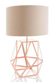 geometric rose gold lamp rose gold lamp geometric designs and
