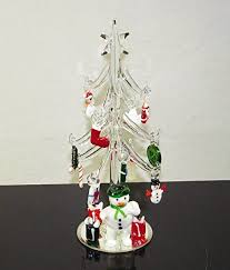 mini tree with snowman and 15
