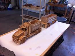 Free Download Wood Toy Plans by Wood Model Truck Plans Plans Diy Free Download Free Simple