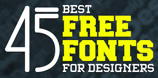 best fonts for web design 2014