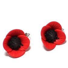 poppy earrings 41 best poppy jewelry images on poppies jewelry