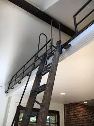 rockler vintage rolling library ladder ladder hardware satin