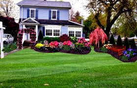 front yard flower garden plans exterior landscaping ideas for
