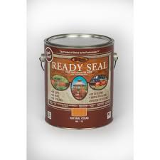 ready seal 1 gal natural cedar exterior wood stain and sealer 112