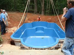Backyard Inground Swimming Pools Best 25 Fiberglass Inground Pools Ideas On Pinterest Small