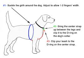 guide dog harness large dog no pull harness designs lupine