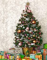 small tree with decorations home design and decorating