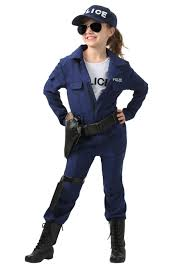 Boys Police Officer Halloween Costume U0027s Tactical Jumpsuit