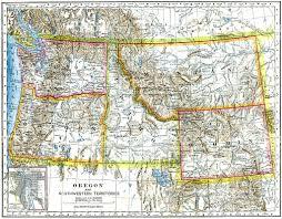 road map northwest usa map usa west ambear me