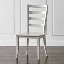 Ladder Back Dining Chairs Dove Grey Ladder Back Dining Chair In Dining Chairs