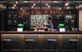 traveling pop up bar by loews hotels is crafting cocktails in a